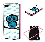 Birds Pattern TPU + PC Side Combo Phone Case For Huawei Honor 6