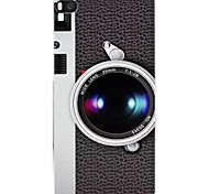 Fashion camera Pattern painted PC Hard Back Cover Case for Huawei P8