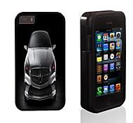 carreras de diseño de los coches 2 en 1 armadura híbrido de cuerpo completo de doble capa golpes protector de caja delgada para el iphone