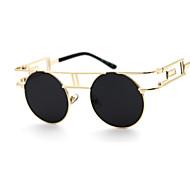 Mulheres 's 100% UV400 Redonda Óculos de Sol
