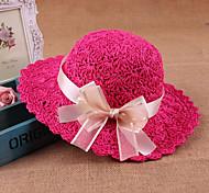 Women Cute/Party/Casual Summer Straw Straw Hat(Random Color)
