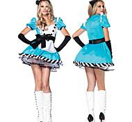 Deluxe Palace Style Alice in Wonderland Women's Halloween Costume