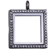 Square Locket(Can be opened) Pendant (1pc)