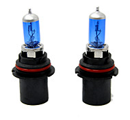 TIROL 2pcs Auto Headlight Bulbs Headlamp Bulbs Halogen 9007 12V 60/55W Super White 5000K