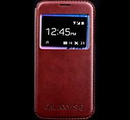 janela backplane caso impressão listra para samsung galaxy S6 (cores sortidas)