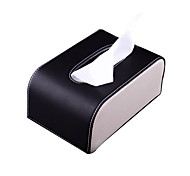European Style Elegant Royal For PU Paper Car Covers Towels In Heart Household Tissue Box
