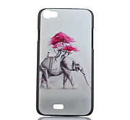 Elephant Pattern PC Phone Case For Wiko LENNY