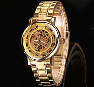 casua orologi meccanici l orologio luminoso oro brand laurea di nuovo modo di vendita caldo tutto in acciaio inox uomini orologio da polso