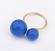 European Style Fashion Simple Ball Ring
