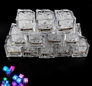 Simulation Ice Light Colorful Led Small Object 12PCS