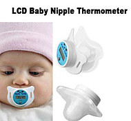 Infant Baby Digital Dummy Pacifier Thermometer Soother Nipple Safe(Random Color)