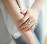 HUALUO®Korean Version of the new Eight Sets Ring Set