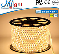 Mlight 5 Meter 72 leds/m 5050 SMD Warm White/White Waterproof/Cuttable 6 W Flexible LED Light Strips AC110-220 V