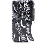 elefante padrão TPU macio para sony e4