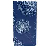 Dandelion  Pattern PC Hard Case for Sony Xperia M2