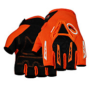 PRO-BIKER Motorcycle Racing Gloves Short Finger Rubber/Cloth/Soft Leather/ M/L/XL Red/Black/Blue/Orange