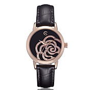 Women's Round Dial Maze Fashion Wrist Watch