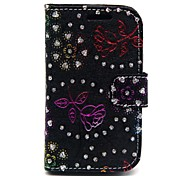 Protective PU Leather Magnetic Vertical Flip Case for Samsung Galaxy Fame/S6810(Assorted Colors)