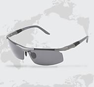 hombres 's Anti-reflectante Envuelva Gafas de Sol