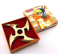Altri accessori Naruto Cosplay Anime Accessori Cosplay Nero / Oro Lega