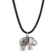 Fashion Europe Elephant Simple Necklace
