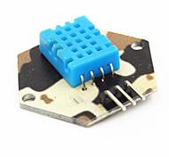 cor camo digital de temperatura / humidade medição módulo de teste para arduino