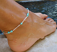 Fashion Monolayer Chain Tophus Anklet