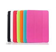 Zahnstocher Welle magnetischen Standfuß PU-Leder-PC-Kasten mit Halter für Samsung Galaxy Tab 9.7 einen T550 (Farbe sortiert)
