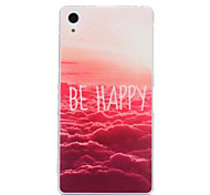 Huoshao Pattern TPU Phone Case For Sony Z1