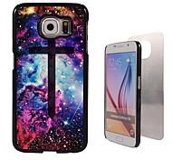 het kruis ontwerp aluminium koffer voor Samsung Galaxy s6