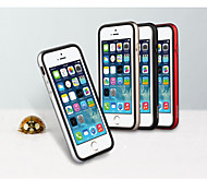 MOSHUO®Metal Frame Silicone Back Case for iPhone 6