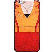 Plump Body Pattern Frame Back Cover for iPhone 6