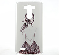 For LG Case Pattern Case Back Cover Case Sexy Lady Hard PC LG