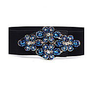 Women Fashion Belt Party/Casual Alloy Faux Leather Wide Belt