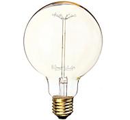 40W 340LM 2600K Warm White The ball bubble tungsten filament lamp(220V)