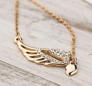 Cusa Women's Elegant All Match Diamond  Chain Necklace