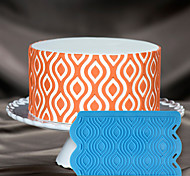 decorazione di una torta stampo in silicone 3d torta stencil reticolo ikat stampo in silicone per cioccolato fondente e le