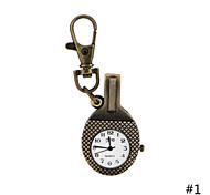annata antico classico tennis da tavolo da tasca ciondolo racchetta orologi per gli uomini delle donne di vendita caldo regali orologio
