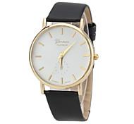 Ladies'  Wrist Watch High-Grade Quartz Watch Leather Band Material Bracelet Watch