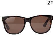 Sunglasses Women's Retro/Vintage / Fashion Hiking Black / Brown Sunglasses Full-Rim