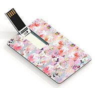 64GB Oil Painting Design Card USB Flash Drive