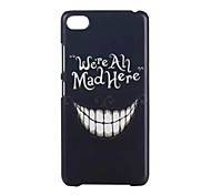 YMX-White teeth Pattern Design Pattern Protective Hard Case for Lenovo S90