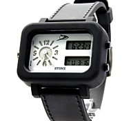Men's Fashion Rubber Band Digital Watch (Assorted Colors)