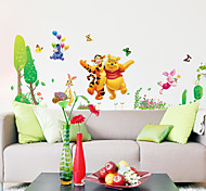 Cartoon Winnie The Pooh Tiger PVC Wall Sticker Wall Decals