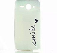 padrão sorriso caso de telefone TPU para Huawei Y530