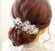 Flower Shape Hair Flower Bride Hair Wedding Headdress Wedding Accessories One Piece