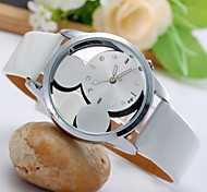 Women's Watches  Mickey's Double-Sided Glass Mirror Watch Fashion Watches Exquisite Transparent Watches Cool Watches Unique Watches