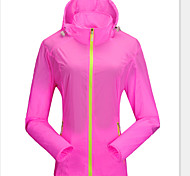 Outdoor Women's UV and Sunprotection Ultra Thin Waterproof Windbreaker