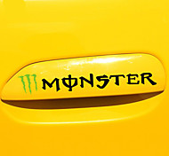 Car Handle Sticker Monster Car Sticker Car Body Decoration Sticker