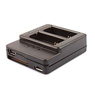 Nuovo arrivo Multi-Input-Dual-ricarica USB per Go Pro Gopro AHDBT 301 AHDBT-301 AHDBT301/201 Accessori